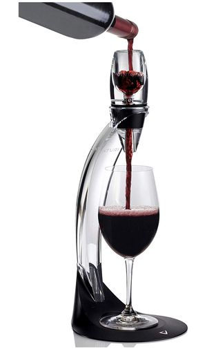 Vinturi Deluxe Essential Red Pourer and Decanter Tower Stand Set Easily and Conveniently Aerates Wine by the Bottle or Glass and Enhances Flavors wit for Sale in Washington, DC