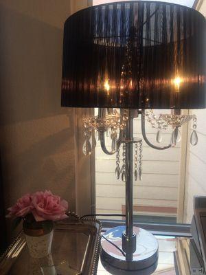 Elegant Chandelier Table Lamp - 3 Bulbs for Sale in Colma, CA