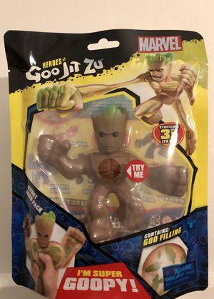 IN HAND Heroes of Goo Jit Zu Licensed Marvel Hero Pack - Groot - Heroes of Goo Jit Zu for Sale in Whittier, CA