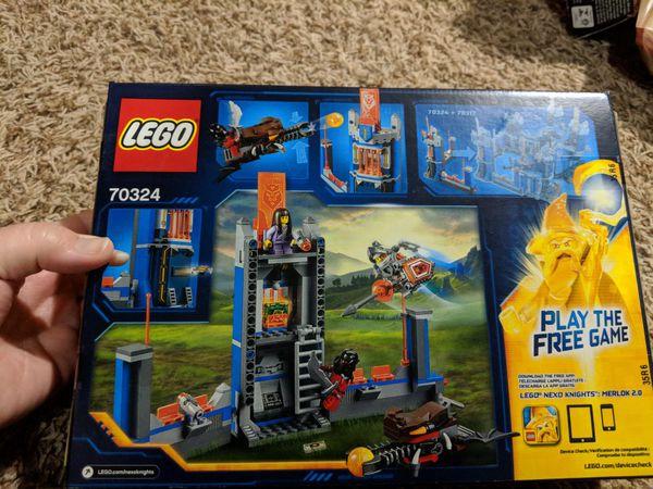 NIB Lego 70324 Merlock's Library (288 pieces)