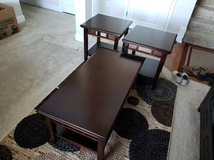 Coffee table and End table set for Sale in Manassas Park, VA