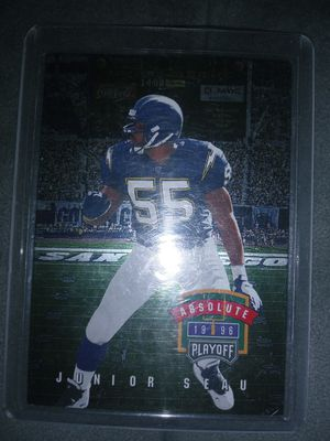 Junior Seau card for Sale in Pasadena, CA