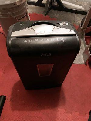 Microcut Paper Shredder for Sale in Las Vegas, NV