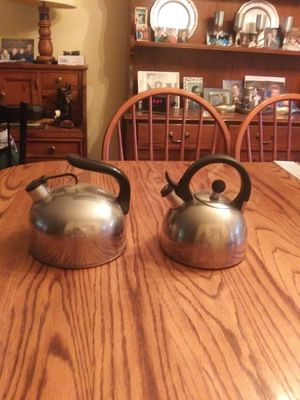 2 Tea Kettles - $10.00 for both for Sale in St. Louis, MO