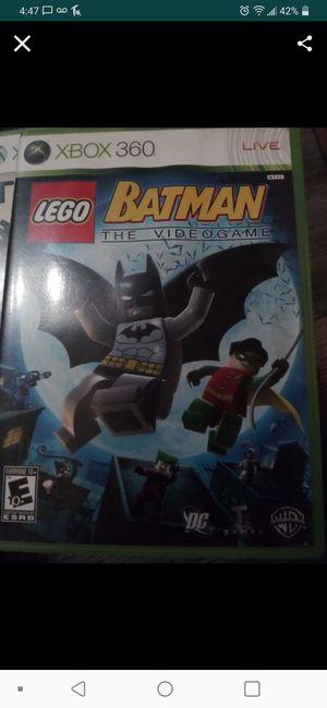 XBOX 360 Lego Batman for Sale in Tempe, AZ