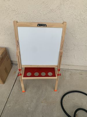 Kids chock board and whiteboard two in one for Sale in Ladera Ranch, CA