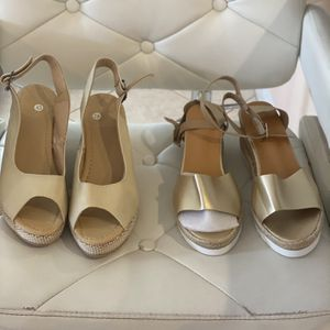 3 Pair Brand New Shoes! All wedges Size 10 for Sale in Port St. Lucie, FL