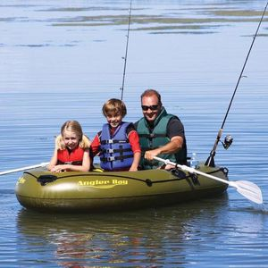 Airhead angler bay inflatable boat for Sale in Grover Beach, CA