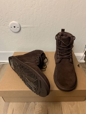 100% Authentic Brand New in Box UGG Harkley Boots / Men size 9, 10, 11 / Color: Stout Brown for Sale in Walnut Creek, CA
