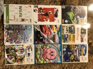 Nintendo Wii Games and Wii Fit board for Sale in Delray Beach, FL
