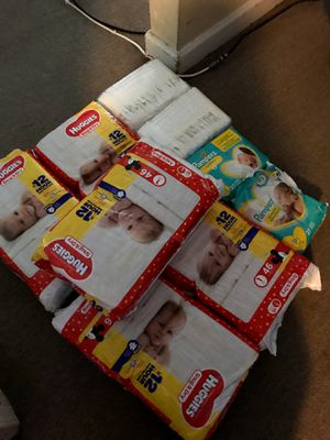 Huggies pampers for Sale in Richmond, CA