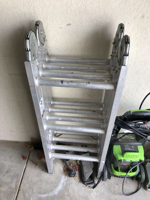 Aluminum Ladder Foldable for Sale in San Diego, CA