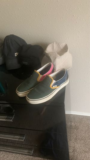 Colorful vans special collection size 7.0 women for Sale in Deer Park, TX