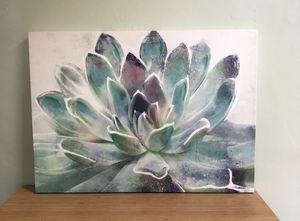 Succulent Canvas for Sale in La Jolla, CA
