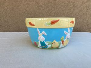 Large Ceramic Easter Pot Flower Planter or Egg Holder for Sale in Perris, CA