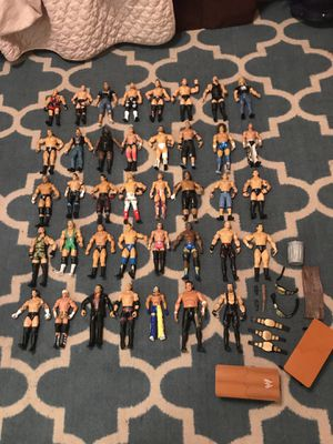 WWE Lot of 39 Action Figures!!! for Sale in Malden, MA