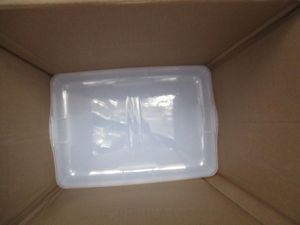 IRIS USA, Inc. CNL-5 Storage Box, 5 Quart, Clear, 20 Pack for Sale in West Point, UT