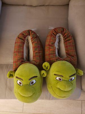 Shrek slippers XXL , brand new for Sale in Delray Beach, FL