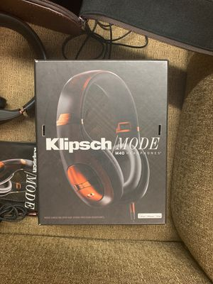 Klipsch/Mode m40Headphones noise canceling over ear still protection headphones need for iPod iPhone iPad iPhone 4S iPhone for iPhone 3GS iPad to an for Sale in Lakeside, CA
