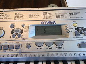 Yamaha PSR-275 keyboard and music stool for Sale in Seattle, WA
