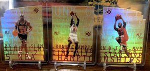 1997-98 Upper Deck SPx Die-Cut Set of 3 Michael Jordan for Sale in Clarksburg, WV