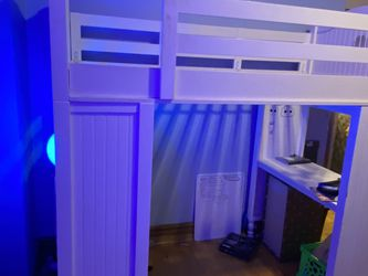 "Pottery barn loft Bed ""Sleep & Study"" for Sale in Chicago,  IL"