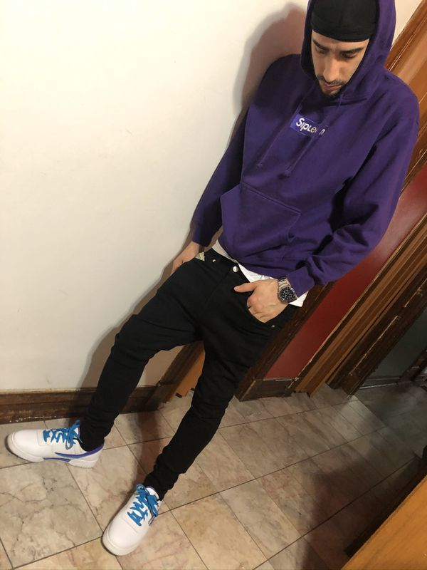 Official SipLean Sweater and fila shoes