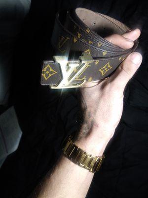 Louis vuitton belt (100% Authentic) for Sale in Denver, CO