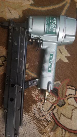 Made in Japan Hitachi NT65A Brad Nailer for Sale in Wheaton, IL