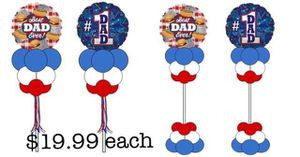Father's Day Balloon Bouquets $9.99!pick up special! for Sale in Chicago, IL