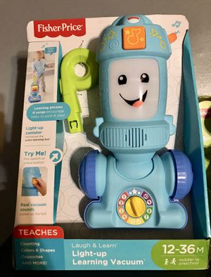 Learning vacuum kid toy fisher price for Sale in Paramount, CA