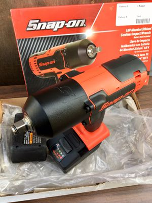 Snap on 18v 1/2 Monster Lithium Impact Wrench ((((( $635 OBO )))) ❗️100% New ❗️Not tested or used once BS ❗️FIRM ❗️ for Sale in Riverside, CA
