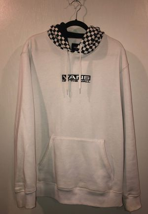 Vans Hoodie White Size Large for Sale in Rolling Hills Estates, CA