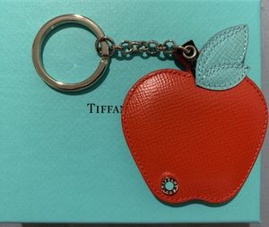 Tiffany & co big apple red & blue keychain or bag for Sale in New York, NY