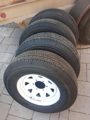 6 lug trailer tires with wheels for Sale in Mesa, AZ