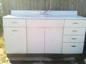 Double sink kitchen countertop for Sale in Backus, MN