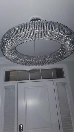 Luxury Pendant Crystal Chandelier. 41inch wide for Sale in Brandywine, MD