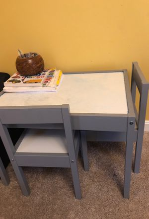 Kids/ toddlers table and chair for Sale in Woodlawn, MD