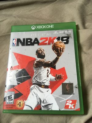NBA 2K18 Xbox one for Sale in Detroit, MI