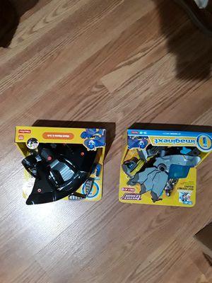 2 Imaginex Fisher Price Kids toys new in box Black Mantis + Cyber Mech for Sale in Walnutport, PA