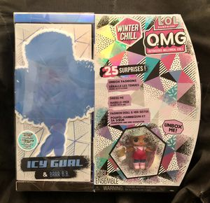 LOL OMG Winter Chill box set with ICY GIRL & BRRR B.B. + 25 Surprises! for Sale in San Francisco, CA