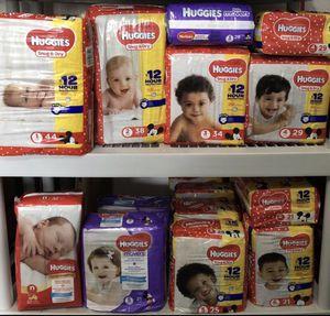 Huggies Diaper packs size N - 6 for Sale in Lehigh Acres, FL