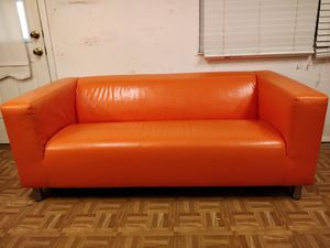 """Like new lather couch/sofa in great condition, pet free smoke free , L70""""*W35""""*H26"""" for Sale in Annandale, VA"""