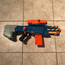Nerf Zombie Strike Zed Squad Long shot CS-12 Blaster NO BULLETS for Sale in Boca Raton,  FL