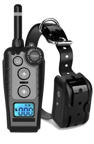 Pet Dog TrainiPet Dog Training Shock Collar with Beep Waterproof E-Collar Remote 100 0ft for Sale in Norwalk, CA