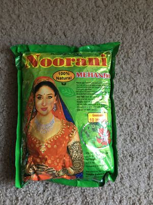 Henna powder for hair and hands for Sale in Phoenix, AZ