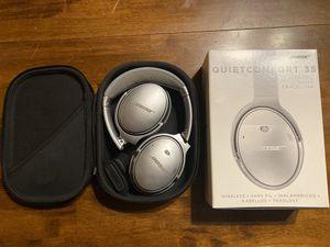 Bose QuietComfort 35 Headphones for Sale in Auburn, WA
