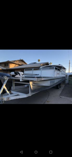 24ft pontoon and trailer for Sale in Phoenix, AZ