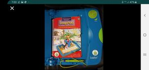 LeapFrog LeapPad Learning System with Storage Bag/Backpack. Starter book and 3 addition for Sale in Hacienda Heights, CA