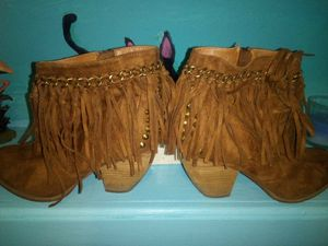 Women's leather ankle boots for Sale in Paragould, AR
